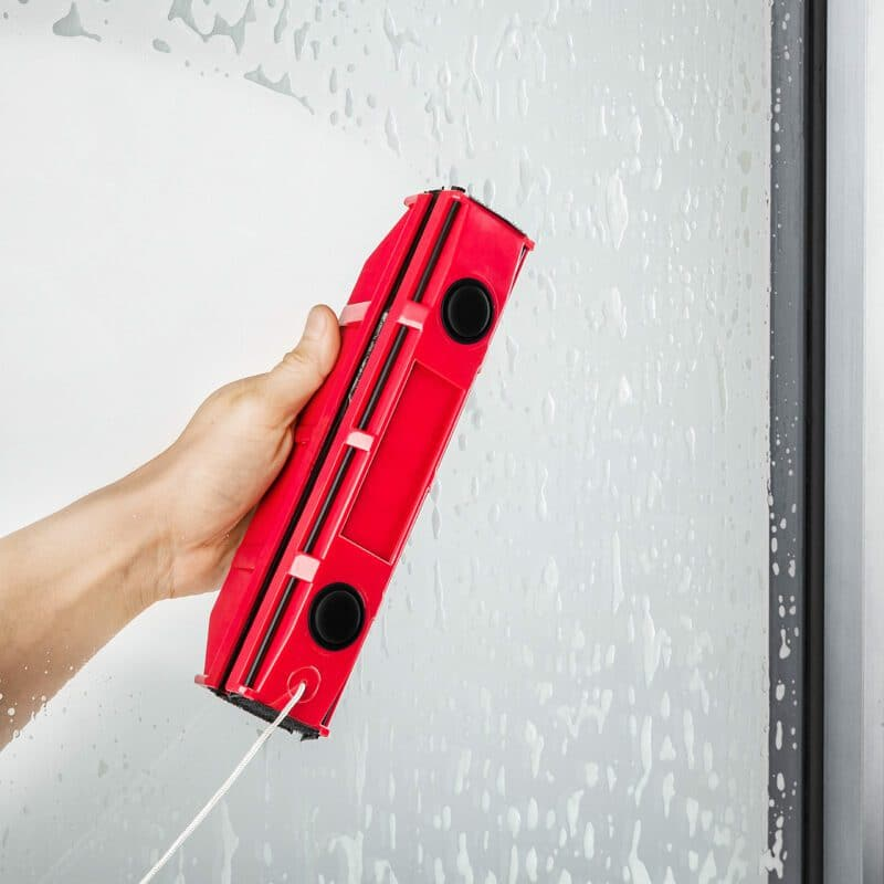 The Glider S1 magnetic window cleaner