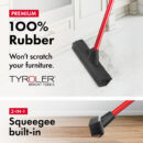 The Rav-Mag Rubber Broom & Squeegee