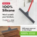 Flexible silicone Squeegee 45