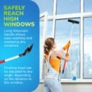 High window cleaner 1.6m/63in