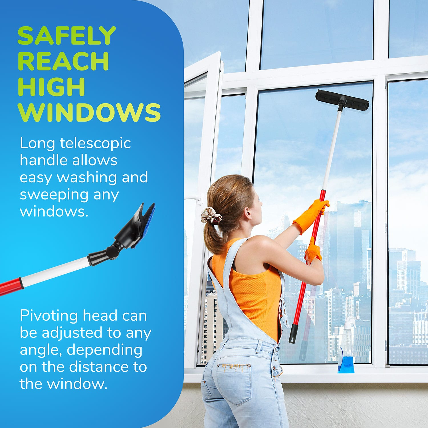High window cleaner 2m/79in