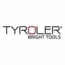 Tyroler Bright Tools Rubber Broom & Squeegee 33CM 100% Natural Rubber Bristles