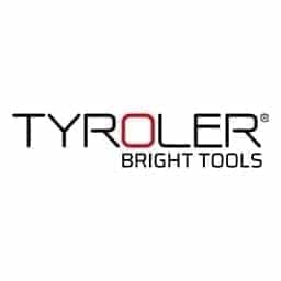Tyroler Bright Tools Patented Floor Squeegee Patented 30 Cm, Solid 100% Silicone