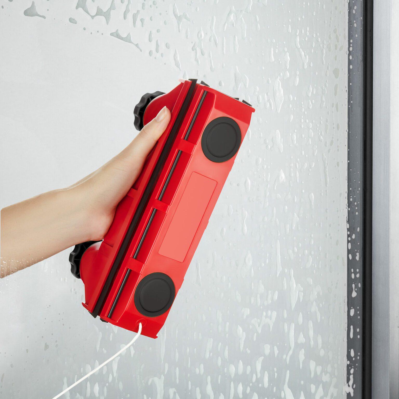 גליידר D-2 מתכוונן- אוניברסלי,מנקה חלונות דו צדדי, לחלונות בעובי בין 2-18 מילימטר