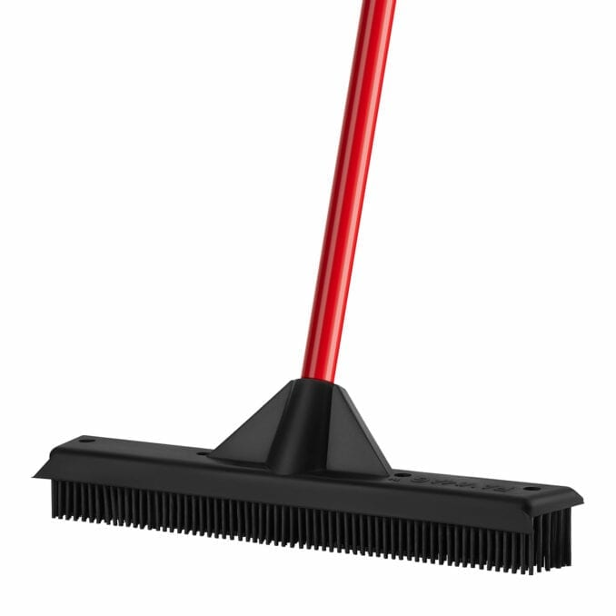 The Rav-Mag Rubber Broom