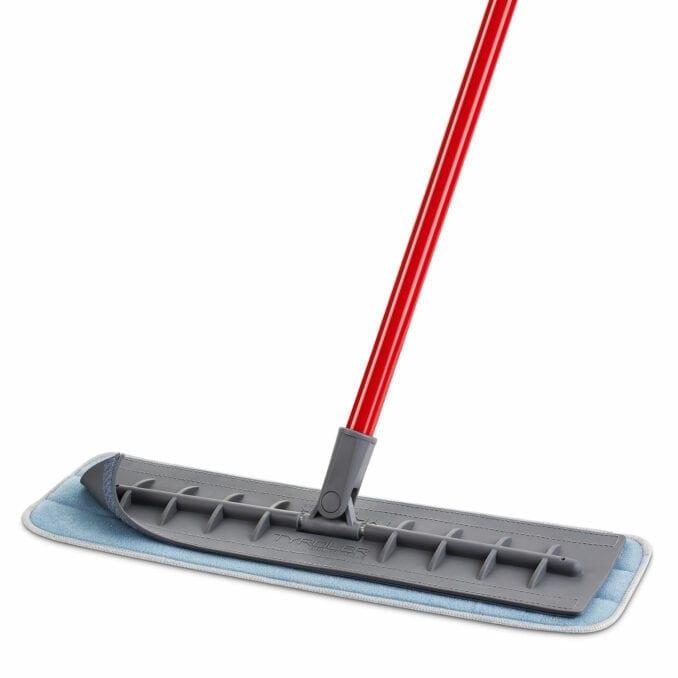 silicone microfiber mop