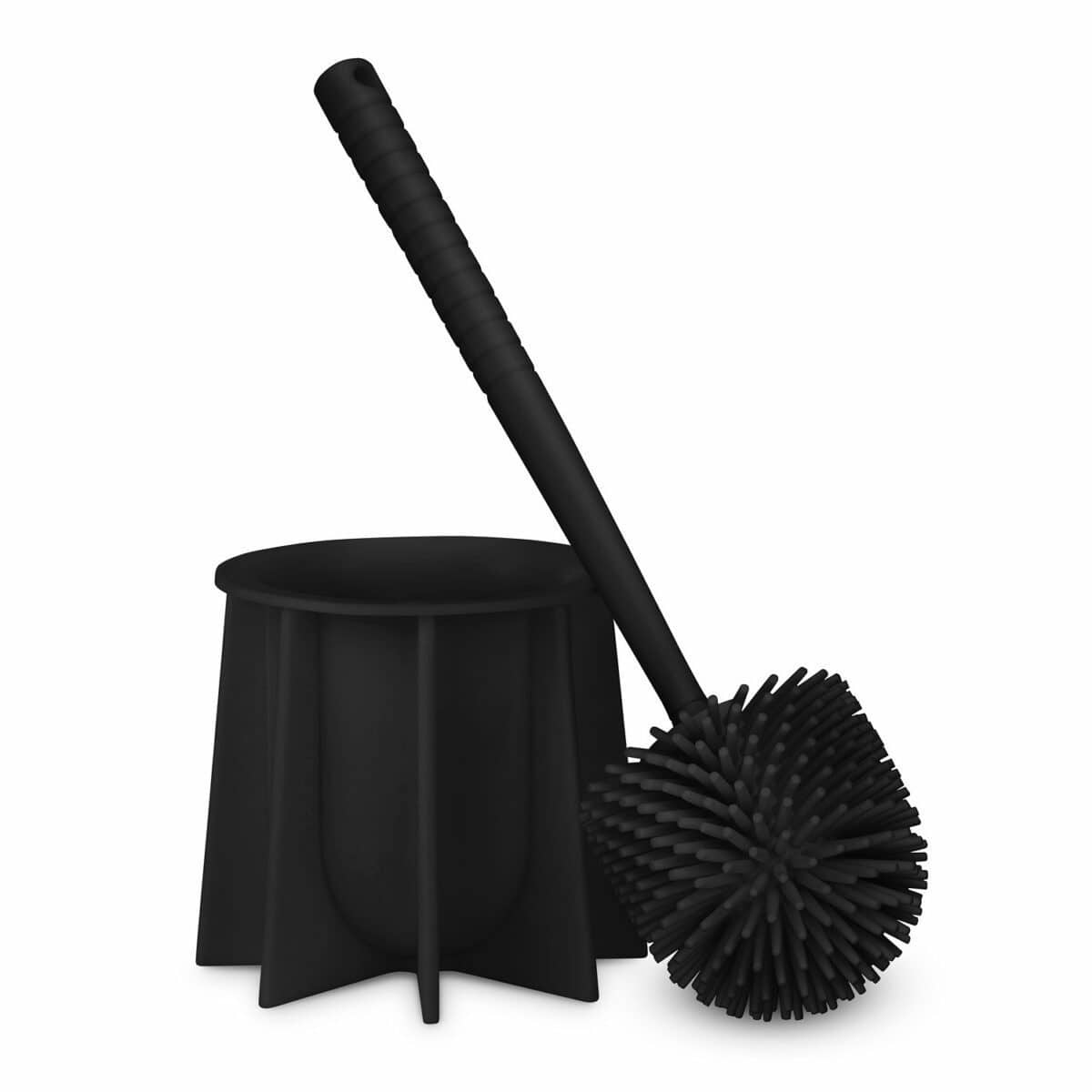 Silicone Toilet Brush black