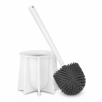 White Silicone Toilet Brush Tyroler