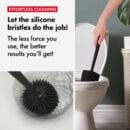 Bathroom toilet brush
